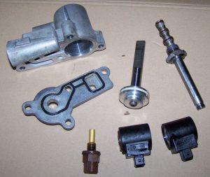Hydraulic control unit VVC