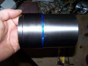 Sealing K series cylinder liner
